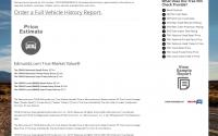 Check The Vehicle History Price Estimator
