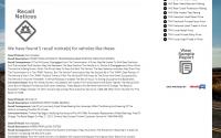 Check The Vehicle History Recall Data API