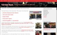 Fairview Music Website