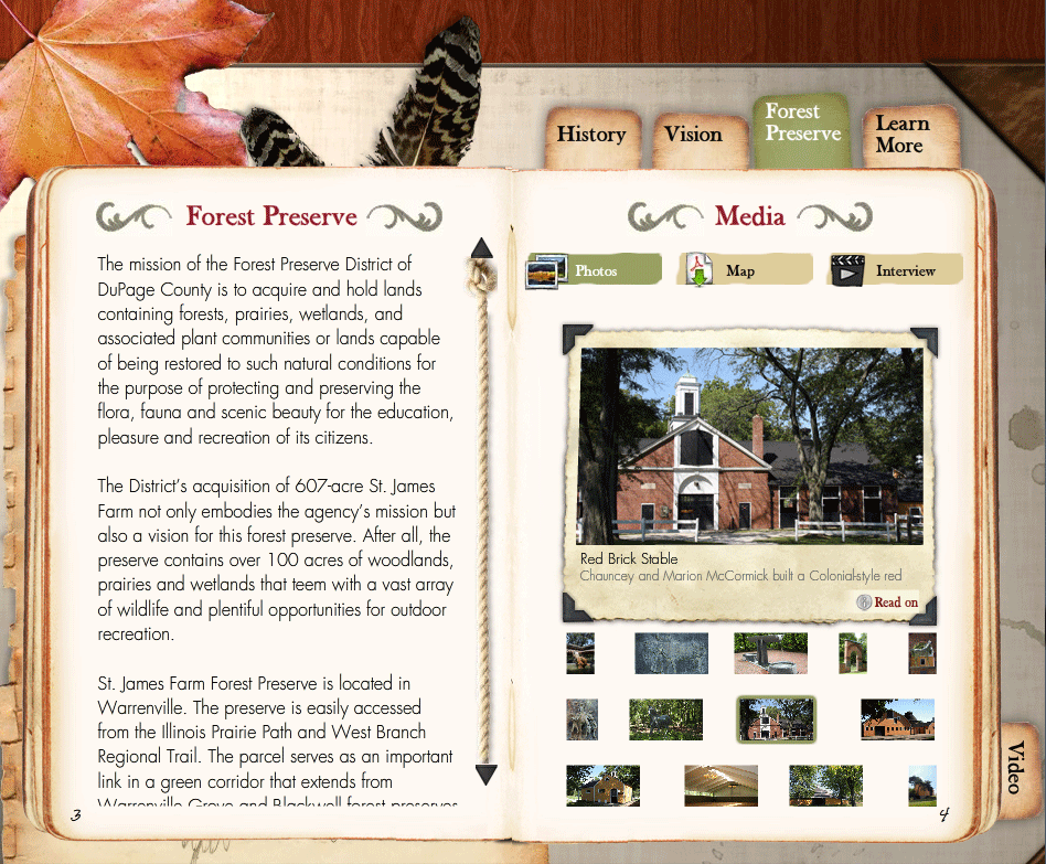 St. James Farm Video and Interactive CD
