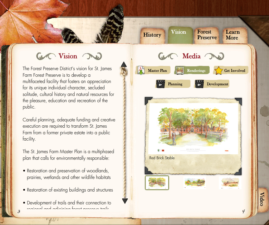 St James Farm Microsite Experience