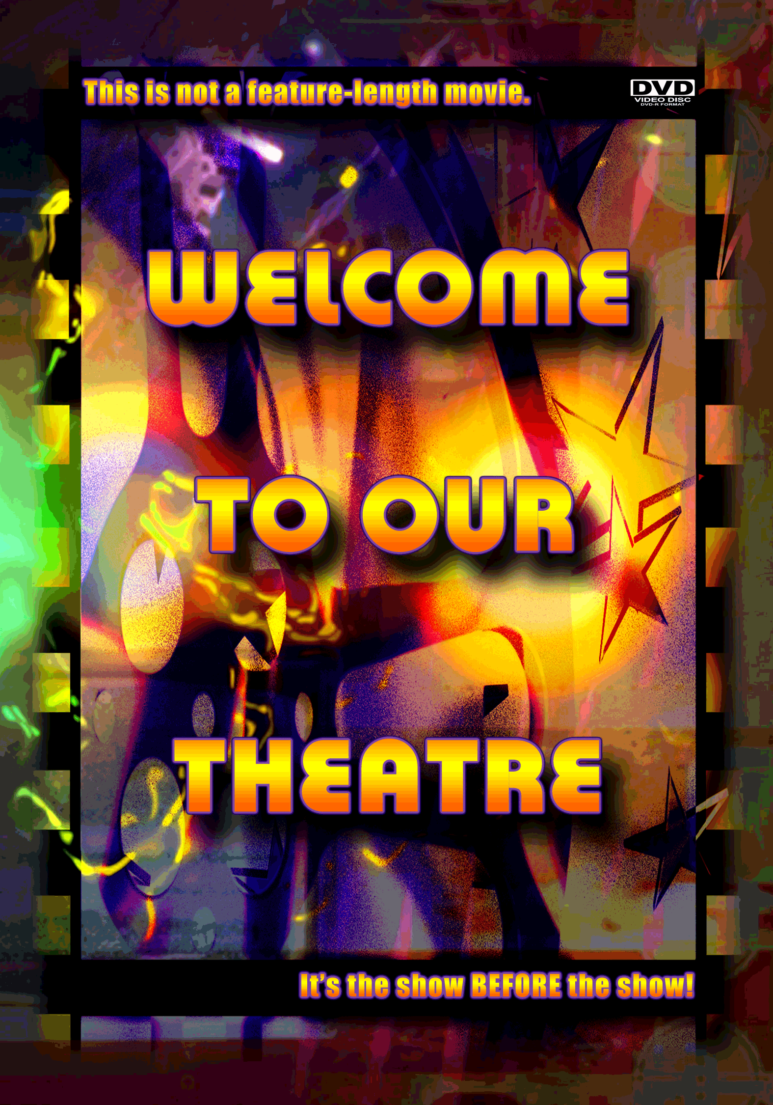 Welcome To Our Theater DVD Box Cover